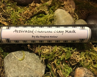 Activated Charcoal Natural Clay Mask