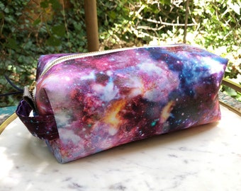Toiletry Bag - Galactic Photos- Universe- Galaxy - Space - School Supplies - Pencil and Electronics case- Graduation Gift, Father's Day Gift