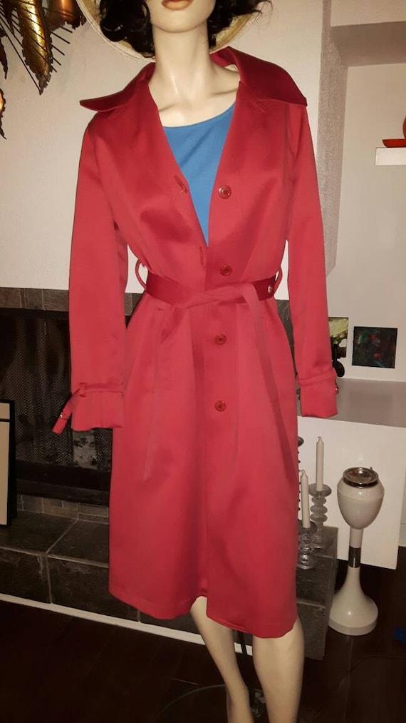 Vintage London Fog 'maincoats' Rain Jacket   Coral Women's London Fog Imaginit Trench Coat   Vintage Rain Coat Trench Coat by Etsy