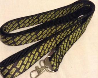Star Wars logo dog leash or collar