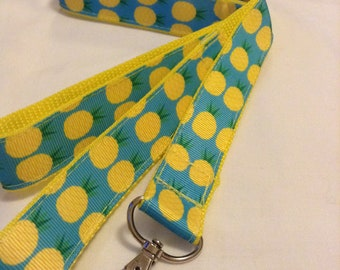 Pineapples themed leash or collar