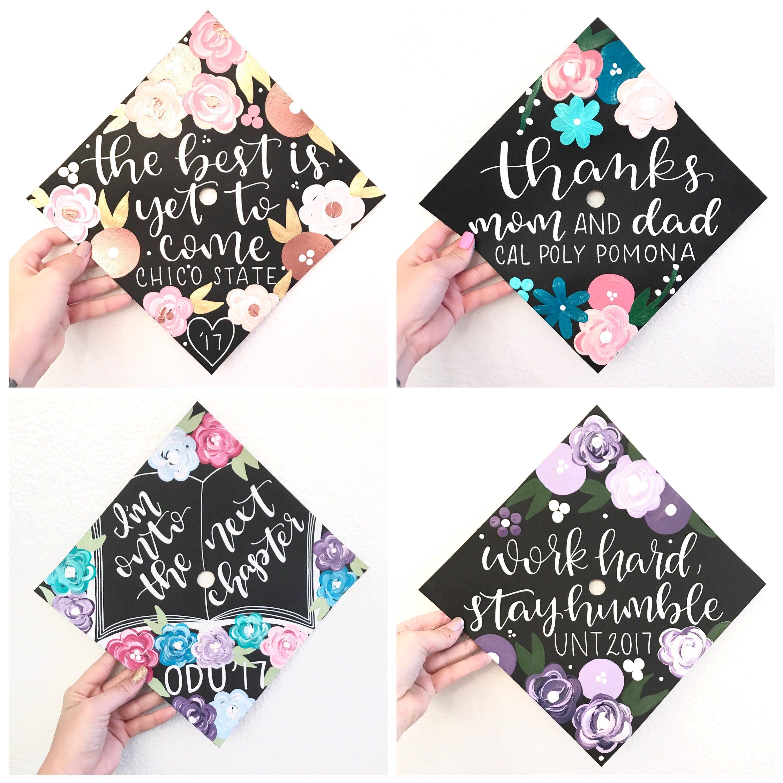 Graduation cap Custom graduation cap graduation cap topper | Etsy