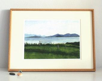 County Mayo, Ireland, Limited edition, unframed, giclee, archival print, landscape, seascape, coastal