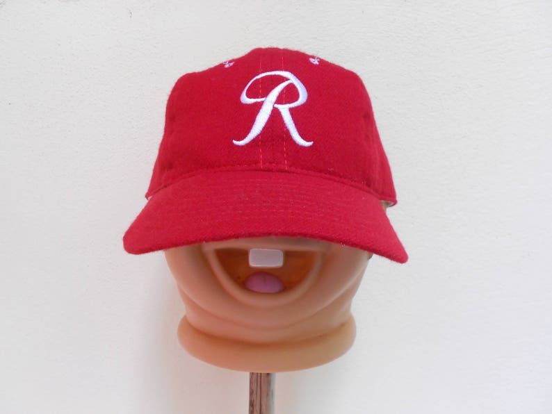best service 5c933 91432 Vintage ebbets field flannels baseball hat made in usa ebbets   Etsy
