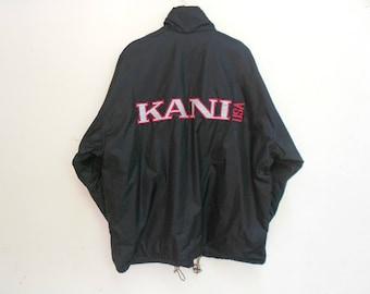 karl kani windbreaker sailing gear reflectif 3M  vintage karl kani side tape