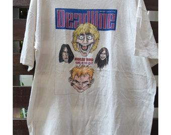 edcc3ebbc85e Vintage 90 s Senseless Things Deadline magazine T-Shirt