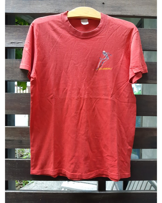 "Vintage Powell ""Rollerbones"" T-Shirt Rare"