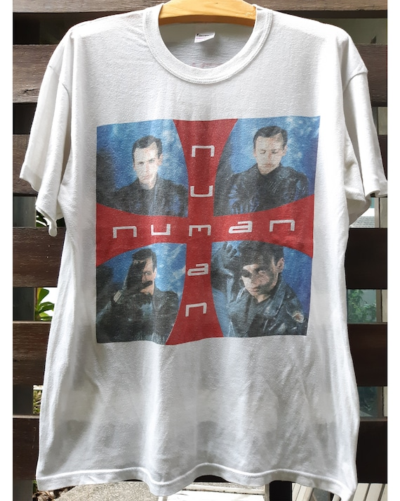 Vintage 1989 GARY NUMAN Concert Tour T-Shirt