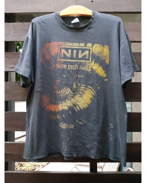 Vintage 90's Nine Inch Nails Closer To God T-shirt