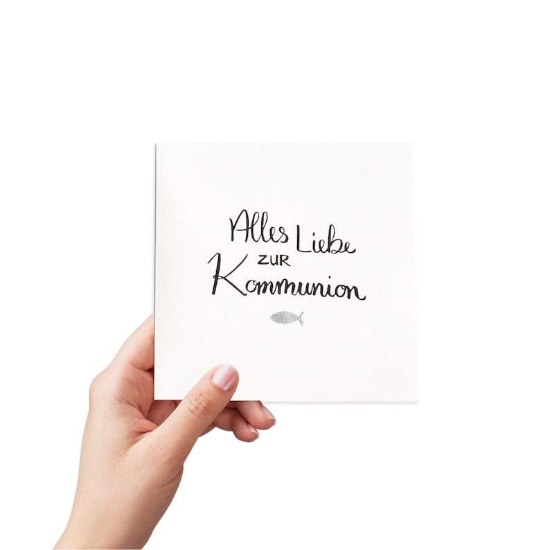 handmade greeting card: communion card image 0
