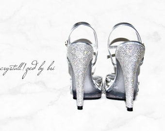 8b5eeaca8 Custom CRYSTALLIZED Stiletto Heels Only Bling with Swarovski Crystals -  CRYSTALL!ZED by Bri Blinged