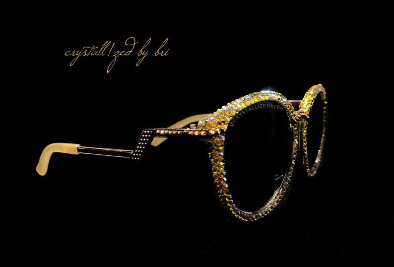 6563c5f7d5 Custom CRYSTALLIZED Sunglasses Bling with Swarovski Crystals - CRYSTALL!ZED  by Bri Blinged Elton John