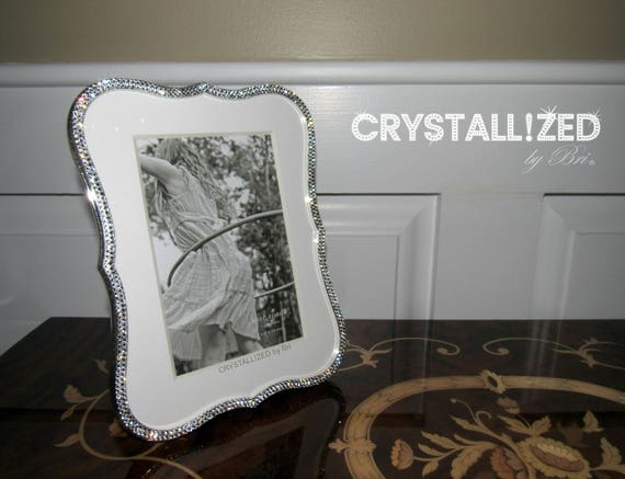 Crystallized 4x6 5x7 Kate Spade Silver Crown Point Picture Etsy