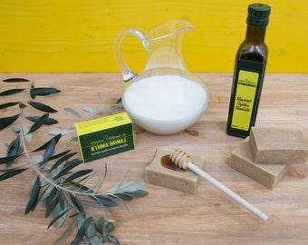 Goats milk honey soap bar, handmade cold process soap, pure olive oil soap, all natural soap, organic soap, skin care, body wash, face wash