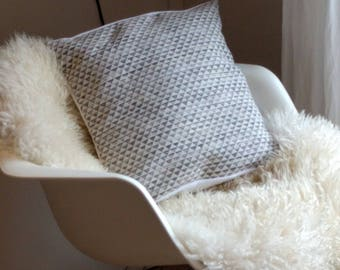 Cotton Cushion cover and linen washed 40 x 40 cm