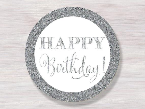 happy birthday stickers printable happy birthday cupcake etsy