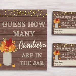 How Big Is Mommy S Belly Fall Baby Shower Games Rustic Etsy
