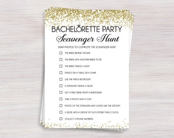 Never have i ever bachelorette party drinking game hens scavenger hunt funny bachelorette games hens party games black white gold bachelorette party ideas bachelorette activity shower activities solutioingenieria Gallery