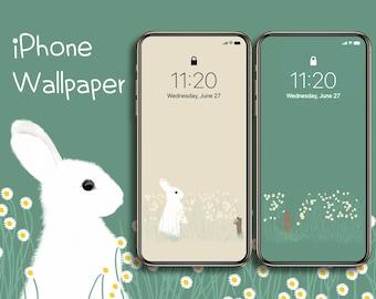 lock screen aesthetic animal crossing phone wallpaper