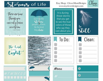 Storms of Life planner stickers