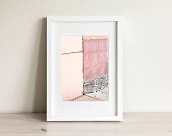 Pastel Abstract Wall Art Poster