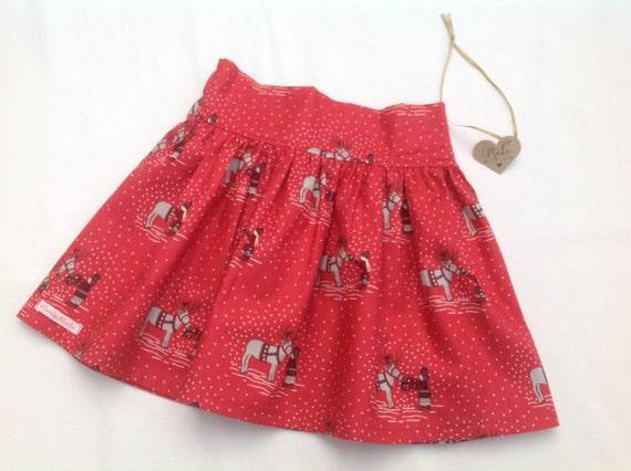 86cb51bc0 Girls Christmas skirt Girls Skirt baby girl skirt toddler