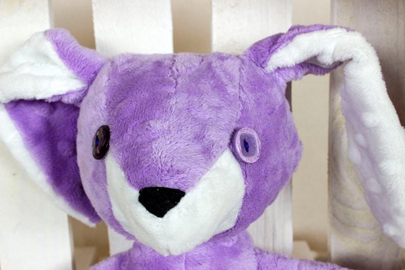Gift for baby Handmade bunny soft toy Rabbit nursery decor Woodland stuffed toy Plush Rabbit Nuva Erni the Bunny