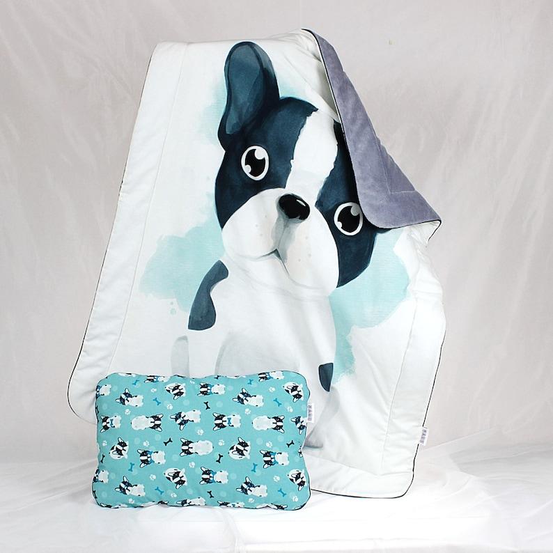 Baby Kinderbett Bettwäsche Französische Bulldogge Krippe Etsy