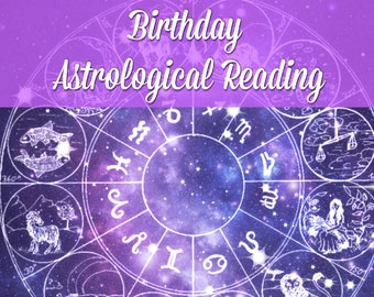 Live Personal Birthday Astrological Reading with Shelley