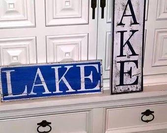 Lake Pallet signs