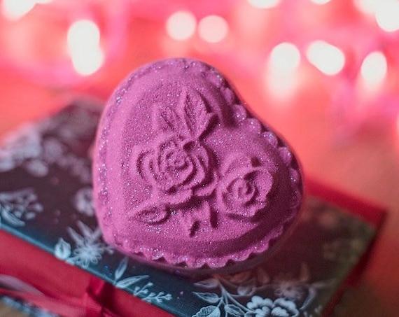 Heart Rose Bath Bomb