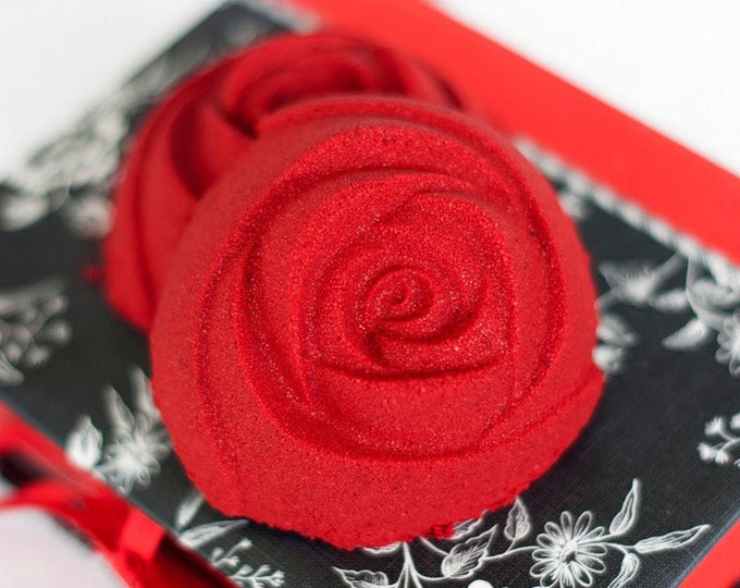 Red Rose Bath Bomb