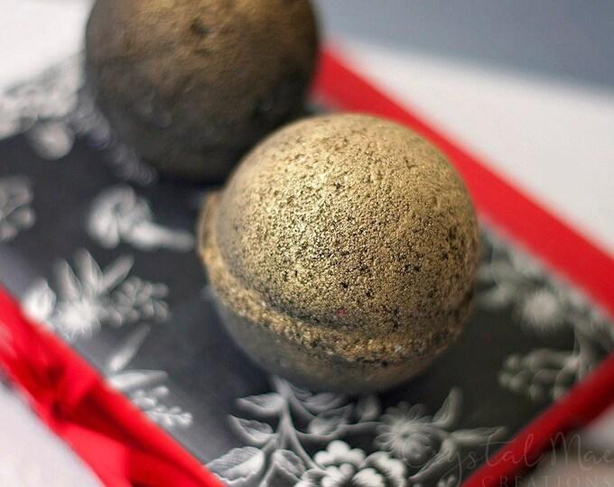 Black & Gold Shimmer Bath Bomb