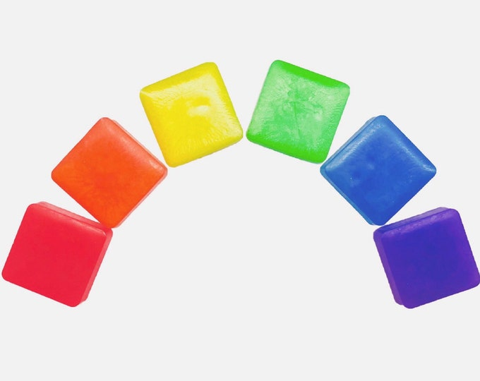 Rainbow Soap Set, Gift Set, Party Favors, Baby Shower, Pride