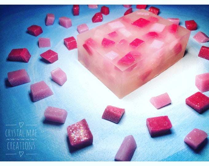 Pink Lemonade Soap - fresh raspberry and sweet lemonade
