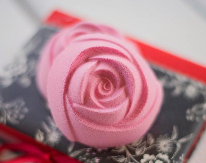 Pink Sugar Rose Bath Bomb