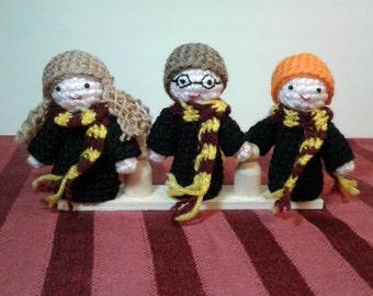 Harry Potter finger puppets. Puppets. Harry Potter.