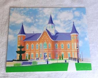 Provo City Center Temple Print