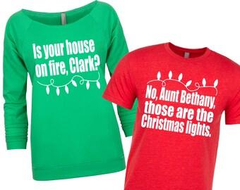matching christmas shirts christmas sweater couples christmas shirts national lampoon christmas vacation shirts funny christmas - Minion Christmas Sweater