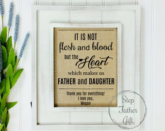 STEPDAD Gift Step Dad Gifts STEPFATHER Father For Daddy From Daughter Daughters Fathers Day Birthday