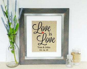 Gay Marriage Gift Etsy
