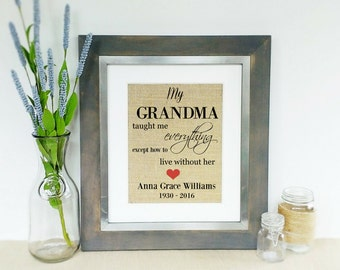 Loss Of Grandma Etsy