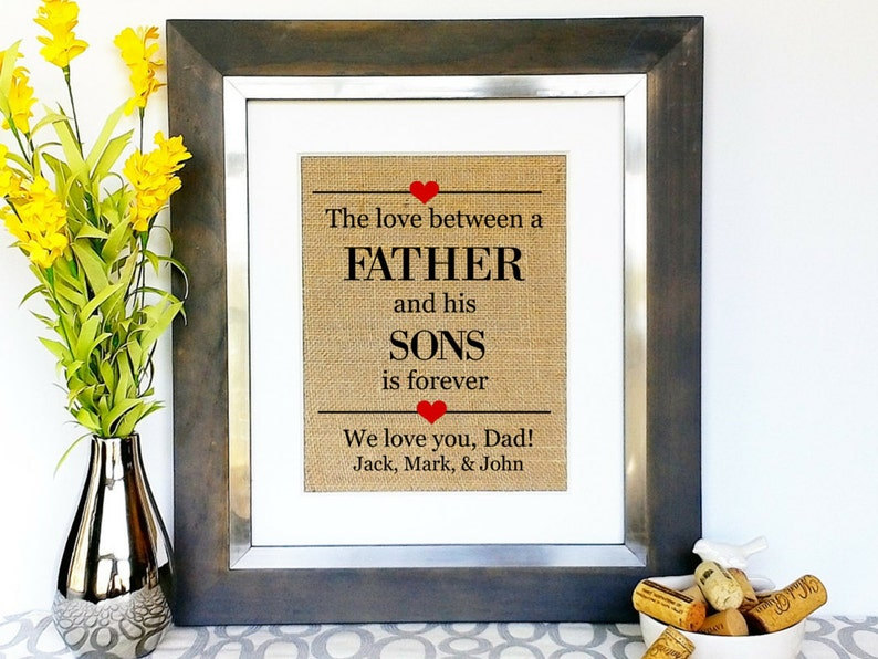 FATHERS DAY GIFT From Sons Children Kids For Dad Daddy