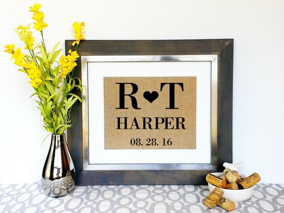 Personalized Engagment Anniversary Wedding Gifts Unique Gift Etsy