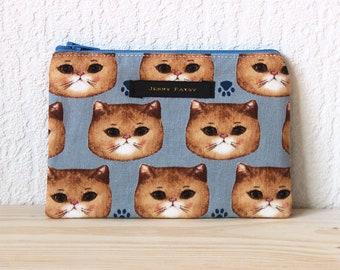 Wallet Cats, Kawai, Japan, cute, vegan, France, children, business cards