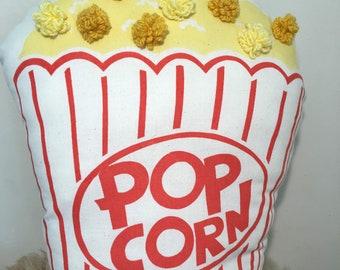 Screen printed popcorn cushion
