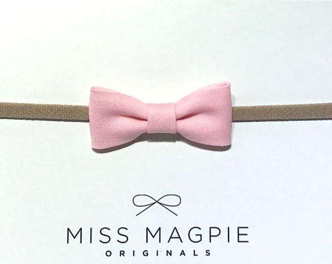 Itty Bitty Headband || Ballet pink