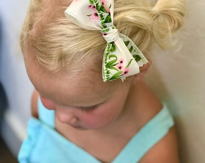 Ribbon bow || Country garden