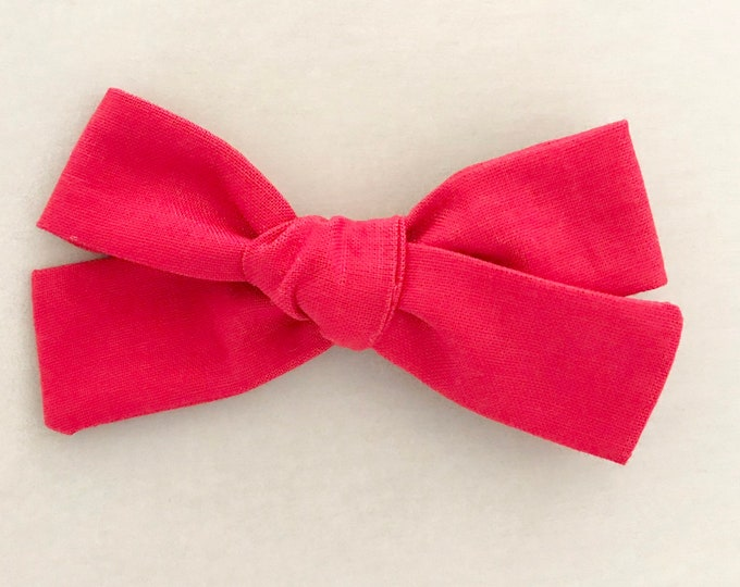 Sloane bow || Christmas red