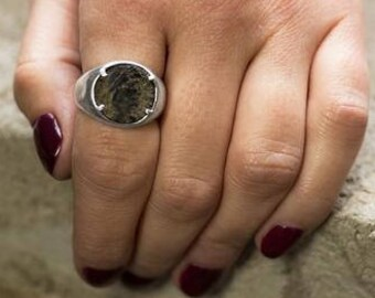 Roman Coin Ring | Ancient Roman Coin Ring | Coin Ring | Silver Ring
